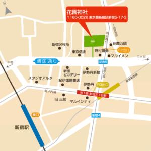 花園神社の酉の市は2016年も凄い!ここだけで見られるモノとは?