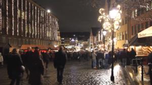 ニュルンベルクのクリスマスマーケット2016!街中が光の洪水に!