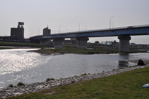 多摩川の散歩道
