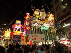 竹飾り:ベルマーレ平塚
