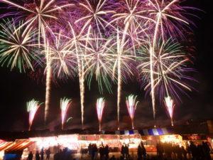 えびす講の花火は2017年も凄い!見どころと穴場を紹介【動画あり】